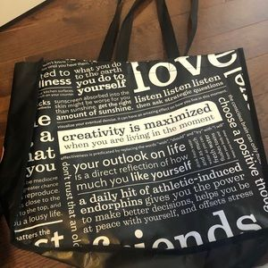 Lululemon large reusable tote bag
